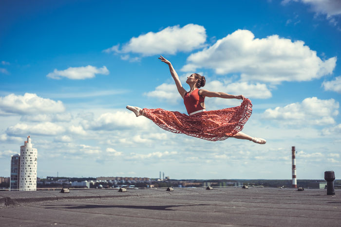 We Photographed Ballerina Dancing In The Most Legendary Place Of Tartu, Estonia