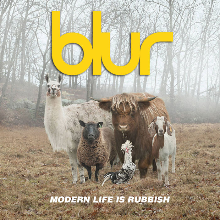 Blur Re-issue Modern Life Is Rubbish
