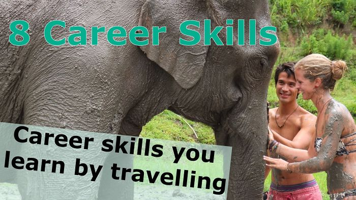 8 Career Skills You Learn While Travelling The World!