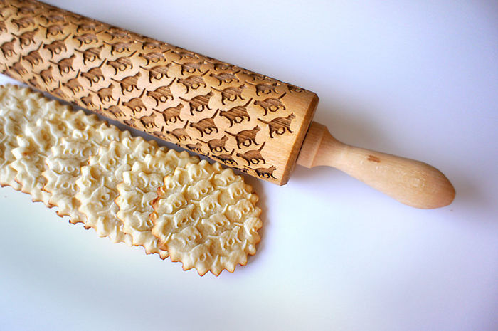 I Designed Funky Rolling Pins To Make Baking Easy And Cool