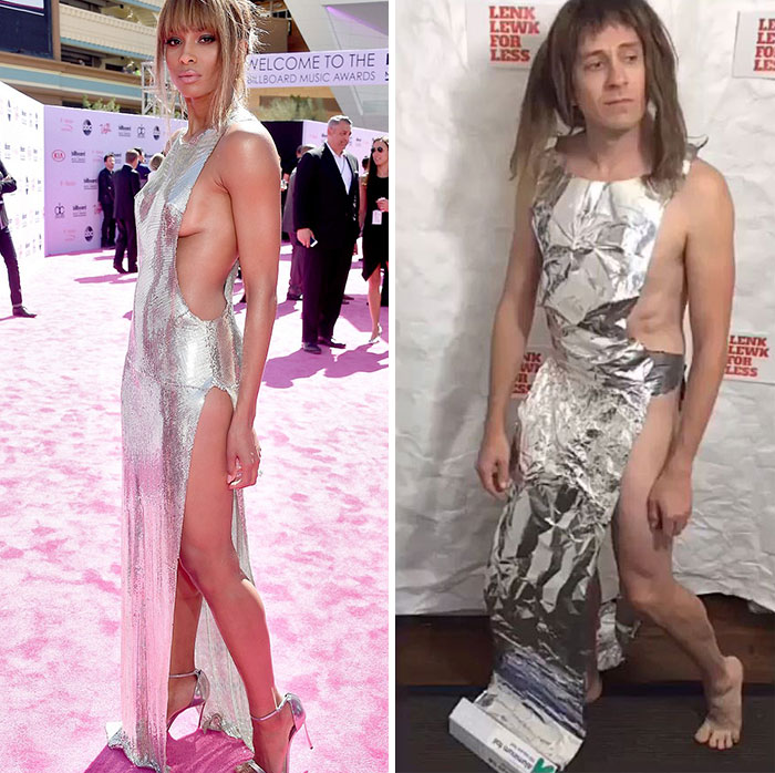 Tom Lenk As Ciara At At Billboard Music Awards