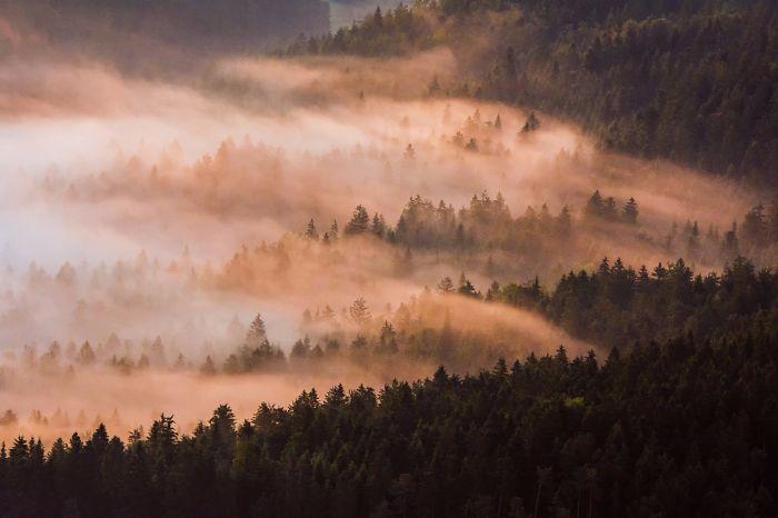 I Photographed Slovenian Countryside Illuminated By Rays Of Sun