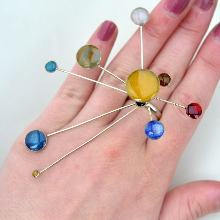 Kinetic Solar System Ring