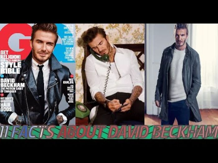 11 Fast Facts About David Beckham | His Own Fragrance