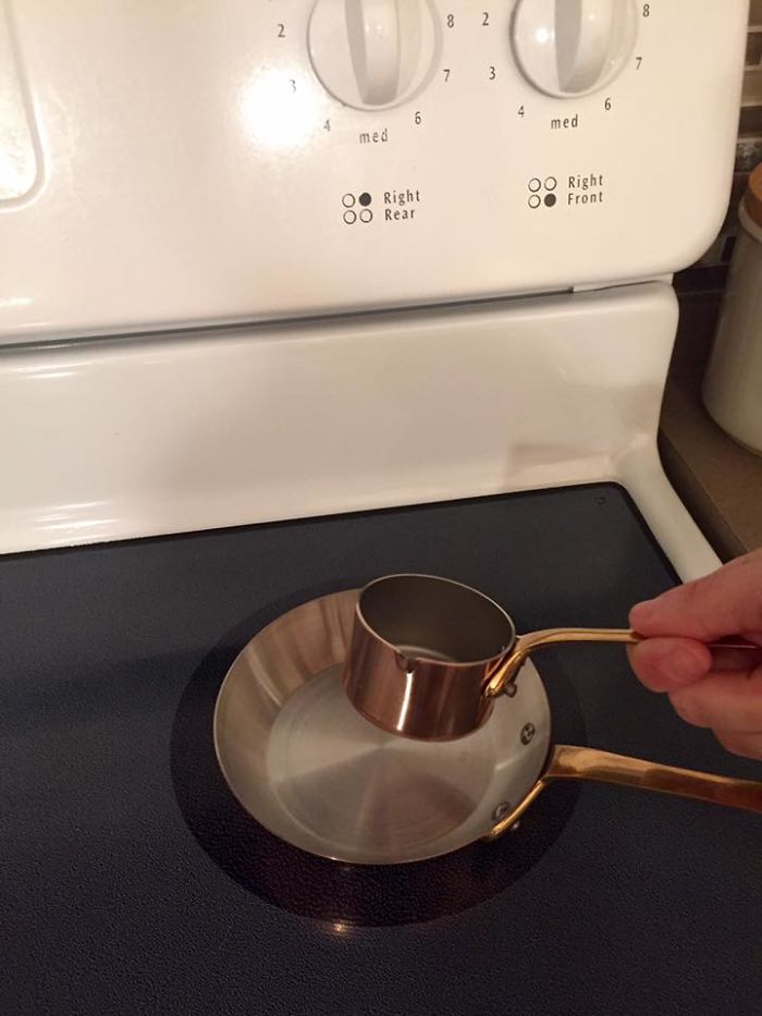 I Bought A New Sauce Pan And Frying Pan Online... They're made of copper so these dollhouse-sized pots actually cost me quite a lot of money