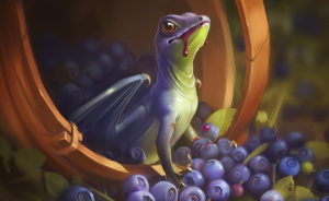 Fruit Dragons By Russian Artist Alexandra Khitrova