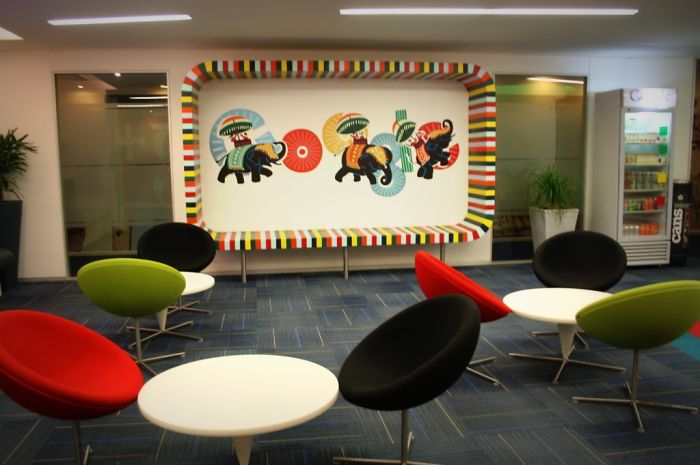 20 Most Beautiful And Fun Walls At Offices Around India