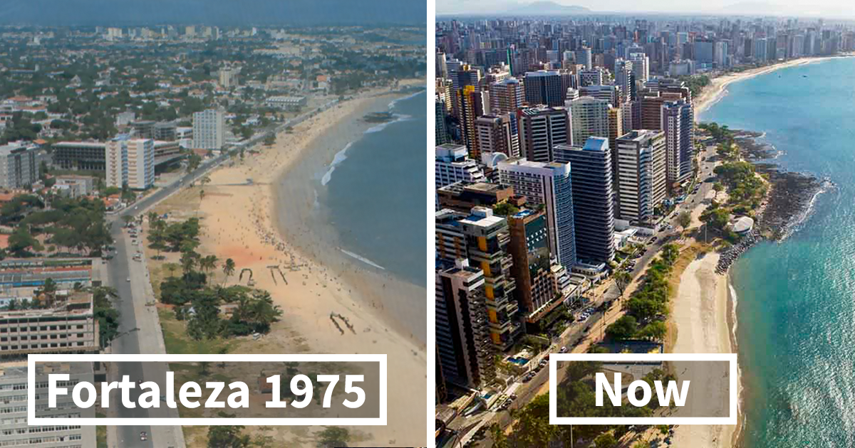 15 before and after pics showing how famous cities changed over