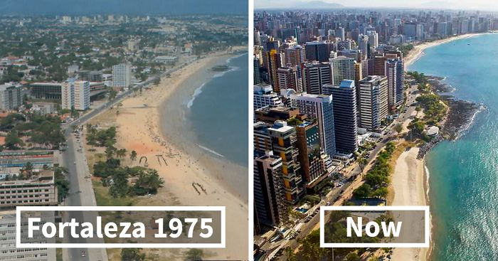 15+ Before-And-After Pics Showing How Famous Cities Changed Over ...