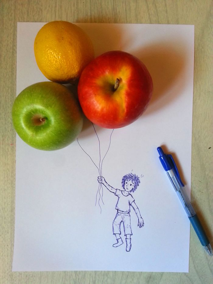 I Create Balloons Out Of Fruits For Tiny People