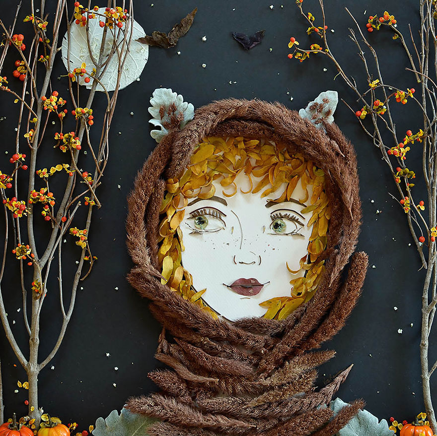 Sister Golden ,Mother Nature Portraits #artpeople