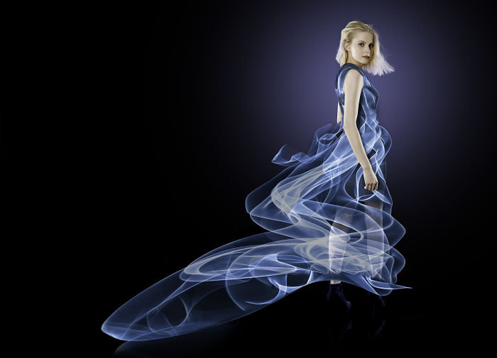 I Made Dresses Using Light