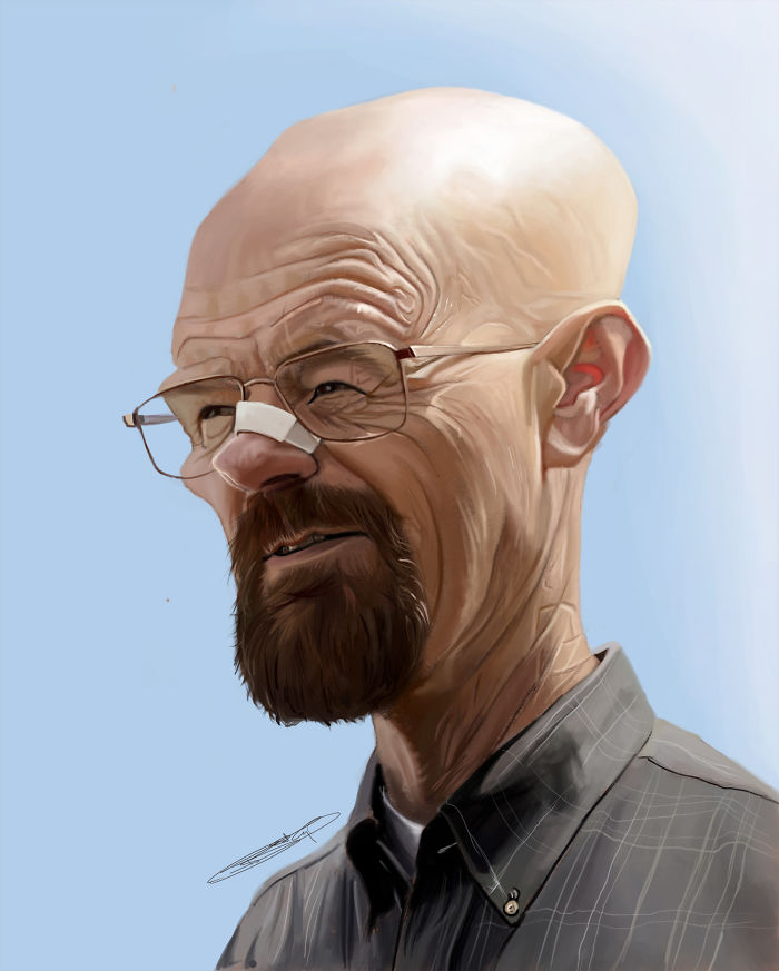 I Draw Hyper Realistic Caricatures And Illustrations With Mixed Media