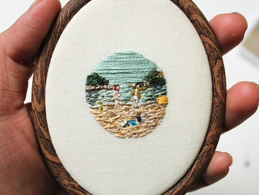 A Miniature Scene From The Movie 'Moonrise Kingdom'
