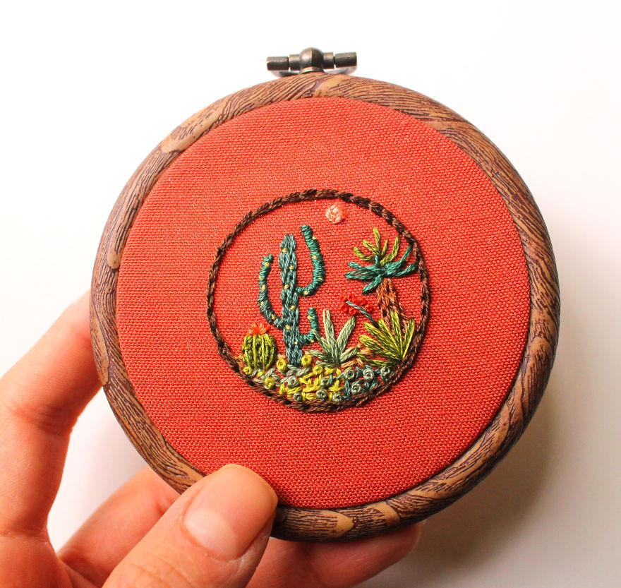 A Miniature Cactusland