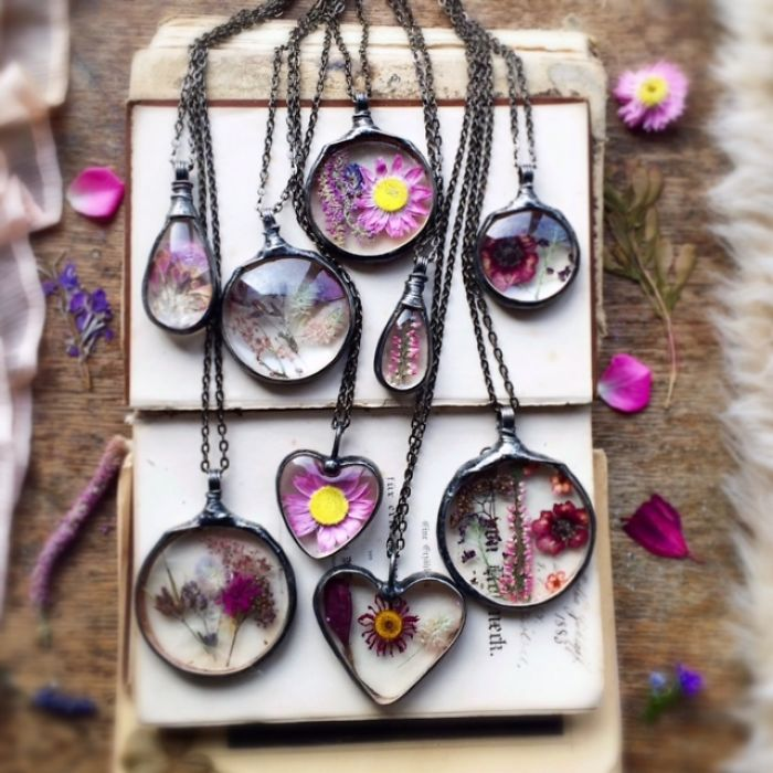Flowers Are Forever! – Real Plant Jewelry By Mariaela