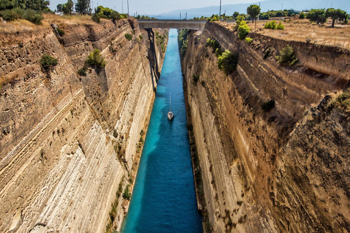 I Visited Corinth Canal Twice To Get The Right Light And I Came Up With Some Photography Tips