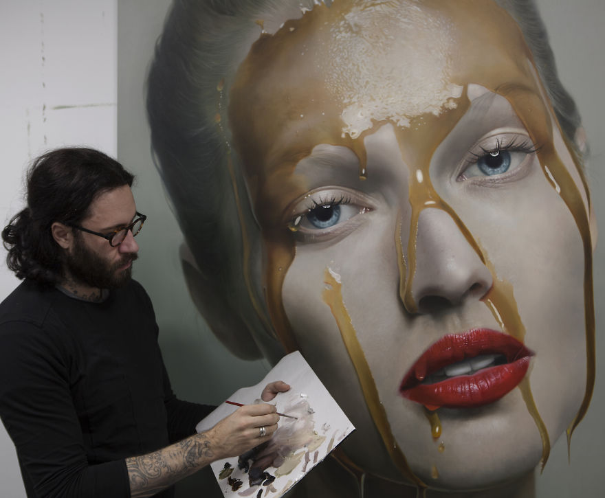 Incredibly Realistic Paintings By Mike Dargas | Bored Panda