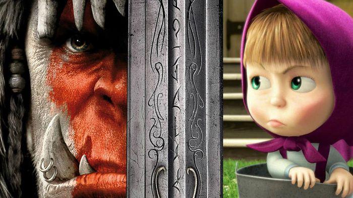 Warcraft Trailer Masha And The Bear 2016 Horror