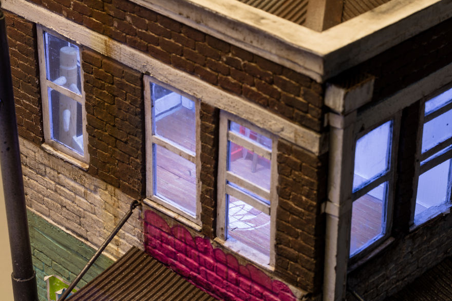 I Create Miniature Urban Landscapes Out Of Cardboard And