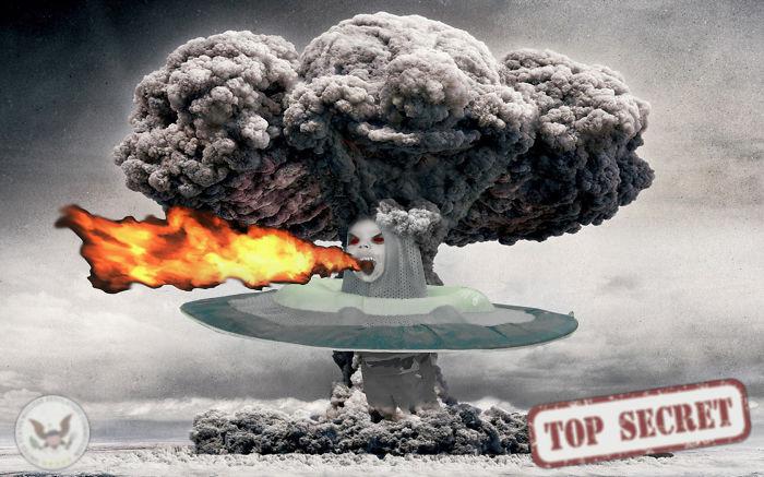 Kid Having A Nuclear Blast! #topsecret