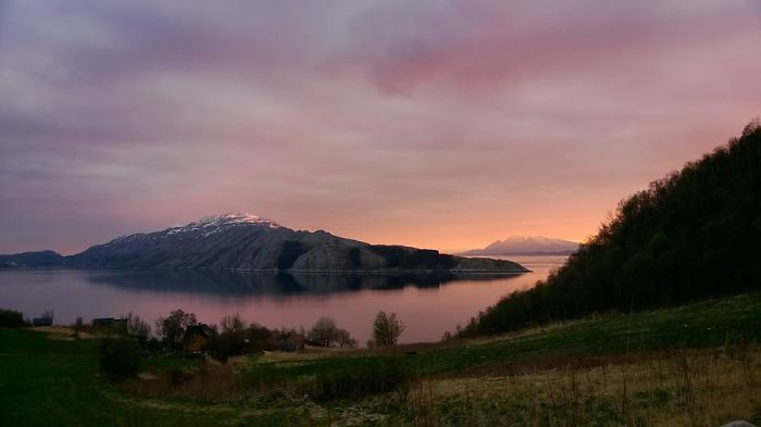 Leirfjord - Amazing Long Sunset...