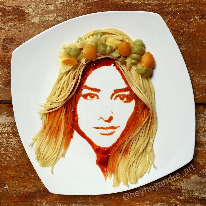 I Played With My Food And Made Art Out Of It!