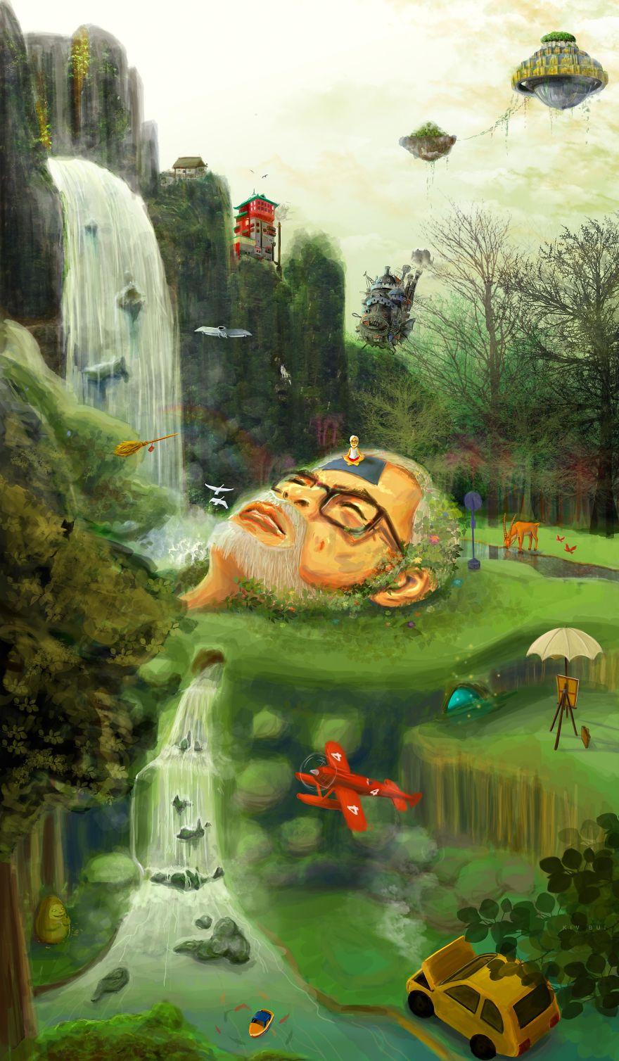 Miyazaki: Part Of Nature