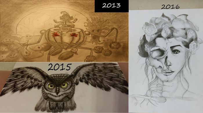 My Work From 2013 (13 Years Old) To 2016 (16 Years Old)