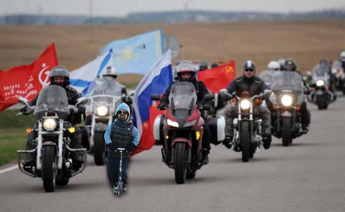 """Putin's Riders """"night Wolves"""""""