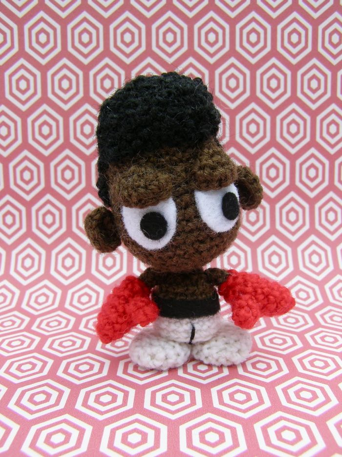 Rip Muhammad Ali – An Amigurumi To Remember Him By