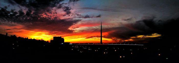 Belgrade's Sky