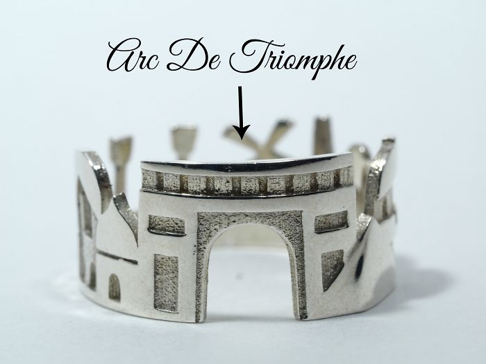 I Was So Impressed With My Paris Holiday That I Designed This Ring