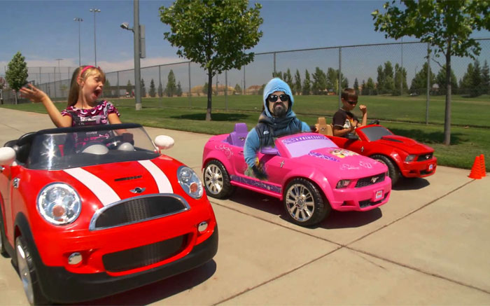 Thug Life Power Wheels Race