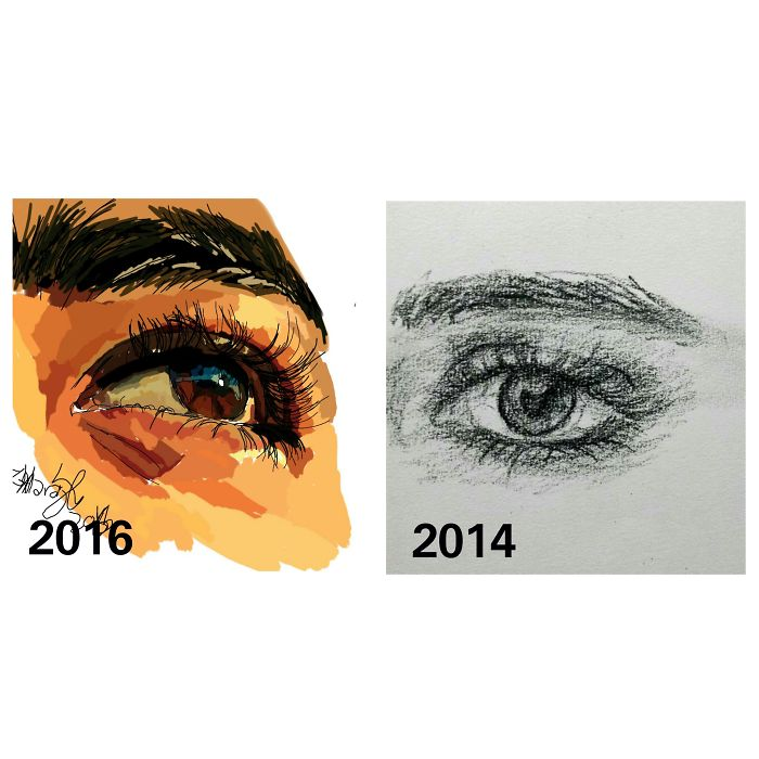 From Sketch To Digital Painting