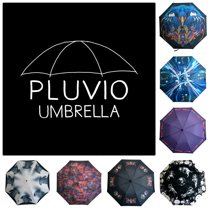 Umbrellas Designed By Popular Modern Artists