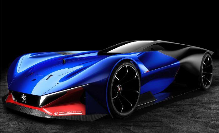 Peugeot L500 R Hybrid Concept – Peugeot Racing Car – Peugeot Sports Car