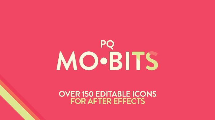 Pq Mo•bits – 150 Animated Icons For After Effects!