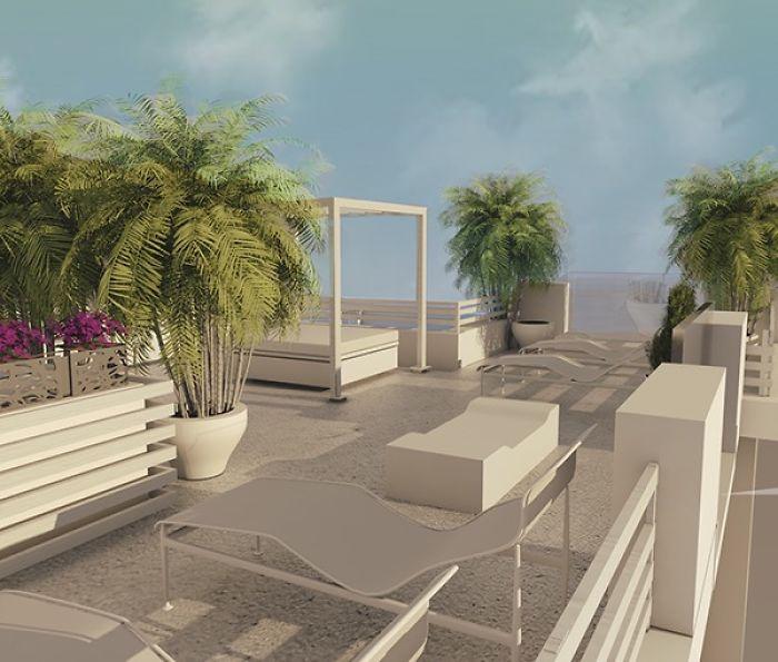 Terrace Renovation. Lipari
