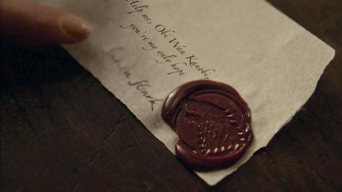 Sansa's Letter