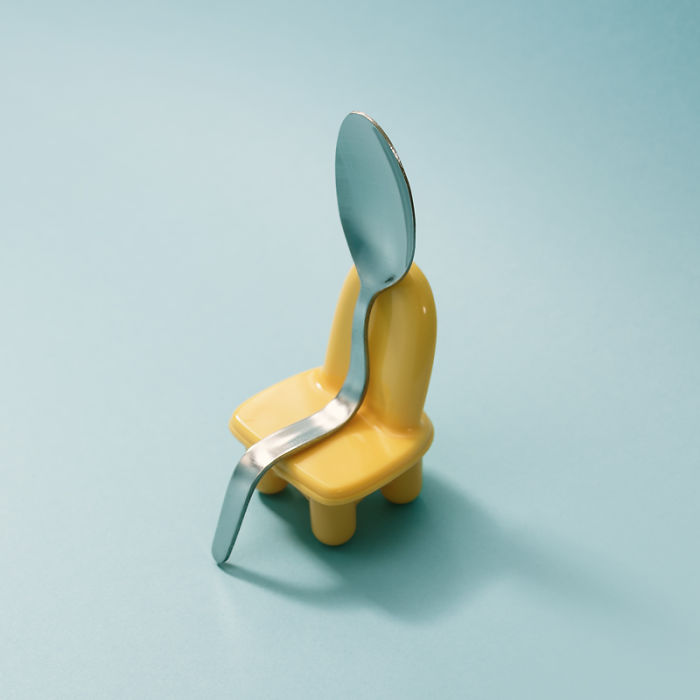 Spoon On Chair