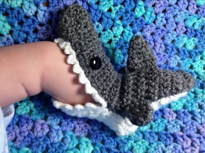 It's Shark Week Every Week With These Killer Shark Bite Booties!