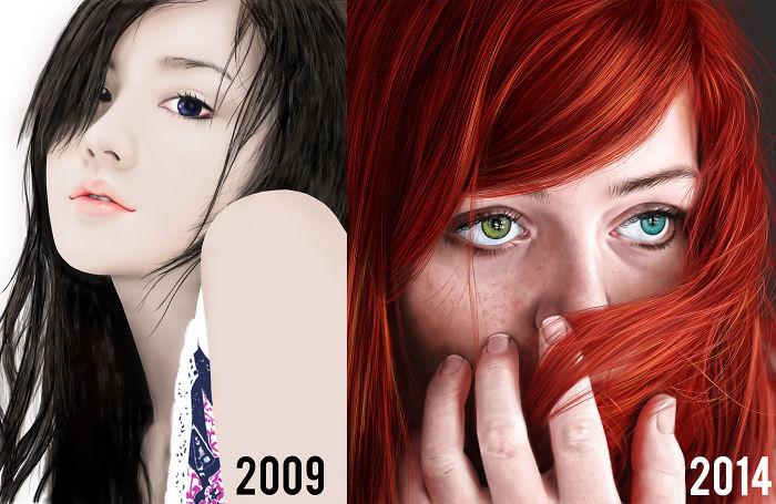 My Portrait In Digital Drawing