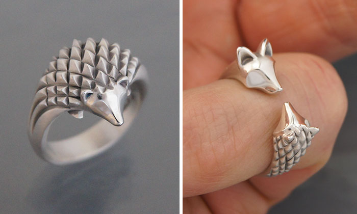 I Make Animal Jewelry Out Of Silver And Bronze