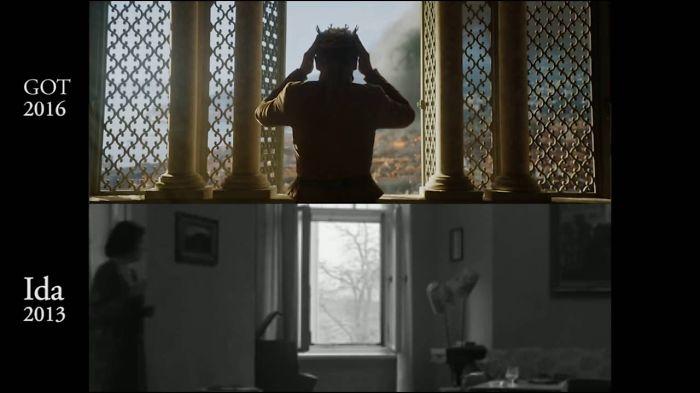 "Game Of Thrones ""king Tommen Suicide Scene"" Copy Of Polish Movie Ida"