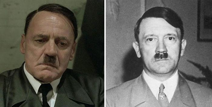 Bruno Ganz As Adolf Hitler In Downfall (2004)