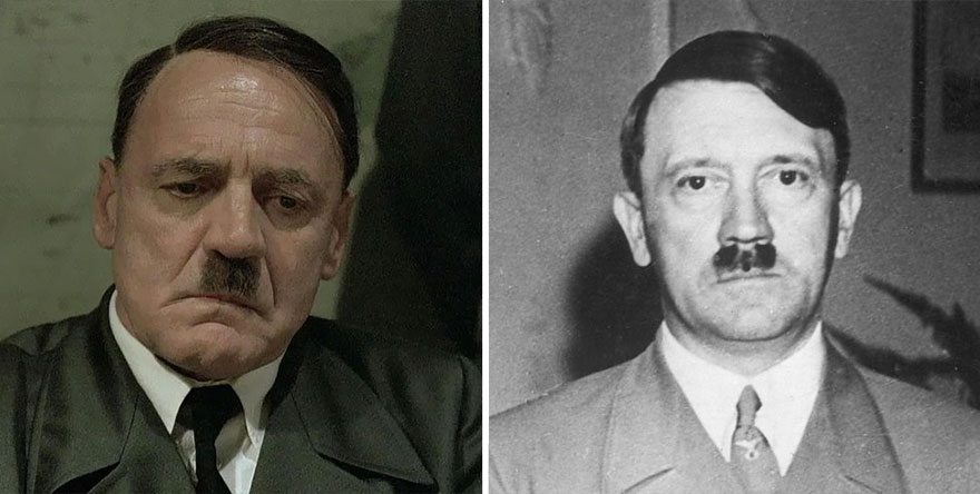 Bruno Ganz As Adolf Hitler In Downfall (2004)