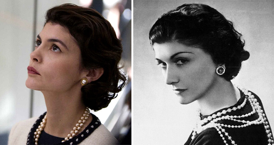 Audrey Tautou As Coco Chanel In Coco Before Chanel (2009)