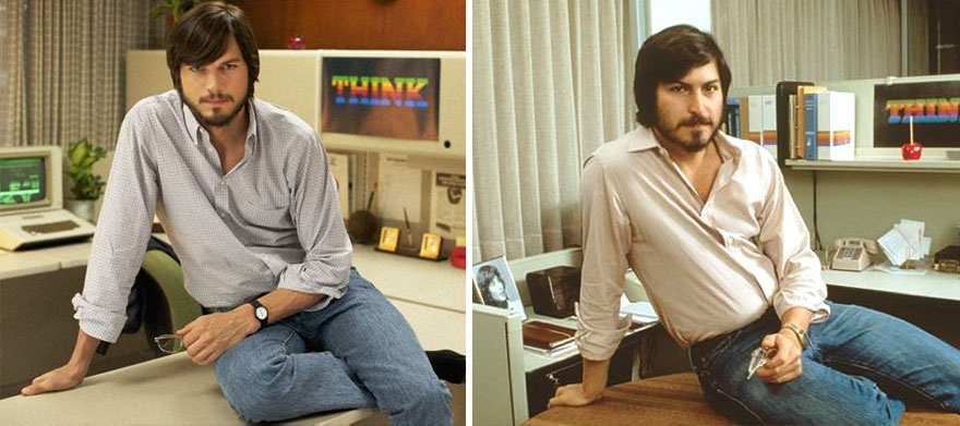 Ashton Kutcher As Steve Jobs In Jobs (2013)