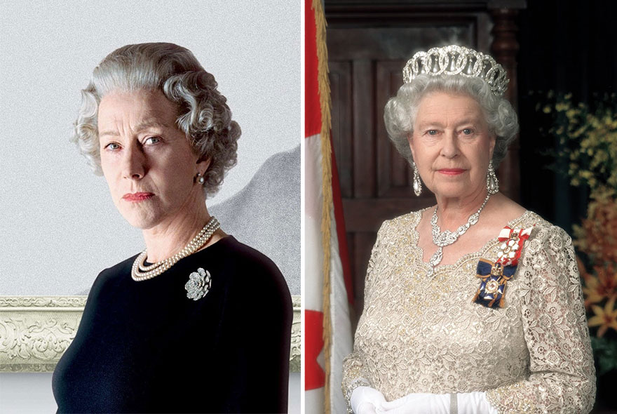 Hellen Mirren As HM Queen Elizabeth II In The Queen (2007)